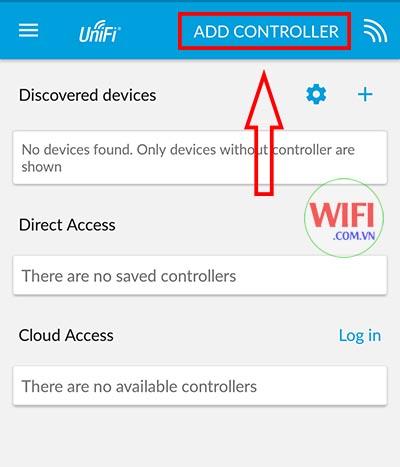 hướng dẫn Đăng nhập vào ứng dụng UniFi trên điện thoại