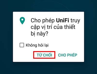 Hướng dẫn cài đặt ứng dụng unifi để đăng nhập vào unifi controller trên điện thoại