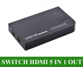 Ugreen 40205 Bộ gộp HDMI 5 in 1 out - Switch hdmi