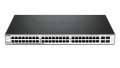 D-Link DGS-1210-52 Web Smart Switch 52-Port Gigabit with 48 UTP and 4 SFP Ports