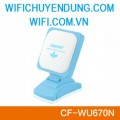 USB Wifi Comfast CF-WU670N 150Mbps high power 12dBi Anten Radar multifunction