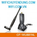 COMFAST CF-WU881NL wifi usb adapter with external antenna 5dBi usb2.0 wlan Chuẩn N 150Mbps