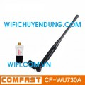 COMFAST CF-WU730A Wireless Usb Adapter Mini Adapter Chuẩn N 150Mbps Anten 5dBi Rời