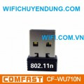 USB WIFI COMFAST CF-WU710N 150Mbps Mini Wireless Card Laptop-Desktop