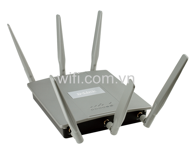 Dlink DAP-2695 Wireless AC1750 Simultaneous Dual-Band PoE Access Point 1300Mbps (Vỏ Kim Loại).