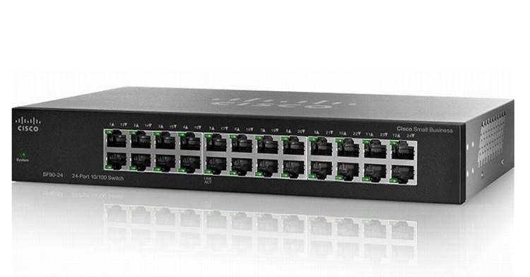 Switch CISCO SF95D-24 24 port 10/100Mbps
