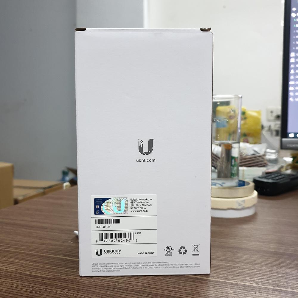 PoE Adapter Ubiquiti cổng Gigabit 48V-0 5A (48V-0 32A) mã U
