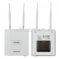 D-Link DAP-2360 IEEE 802.11b/g/n 300Mbps Wireless N PoE Access Point (Vỏ Kim Loại).