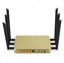 LAFALINK LF-DR3500 Vỏ Nhôm Khối Wireless Router AC High Power 1200Mbps Dual Band Maximum 100 Users