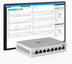 Switch Gigabit 8 Port Unifi US-8