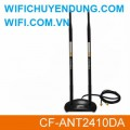 Anten Comfast CF-ANT2410DA High Gain omni 10dBi dual Antenna with SMA base
